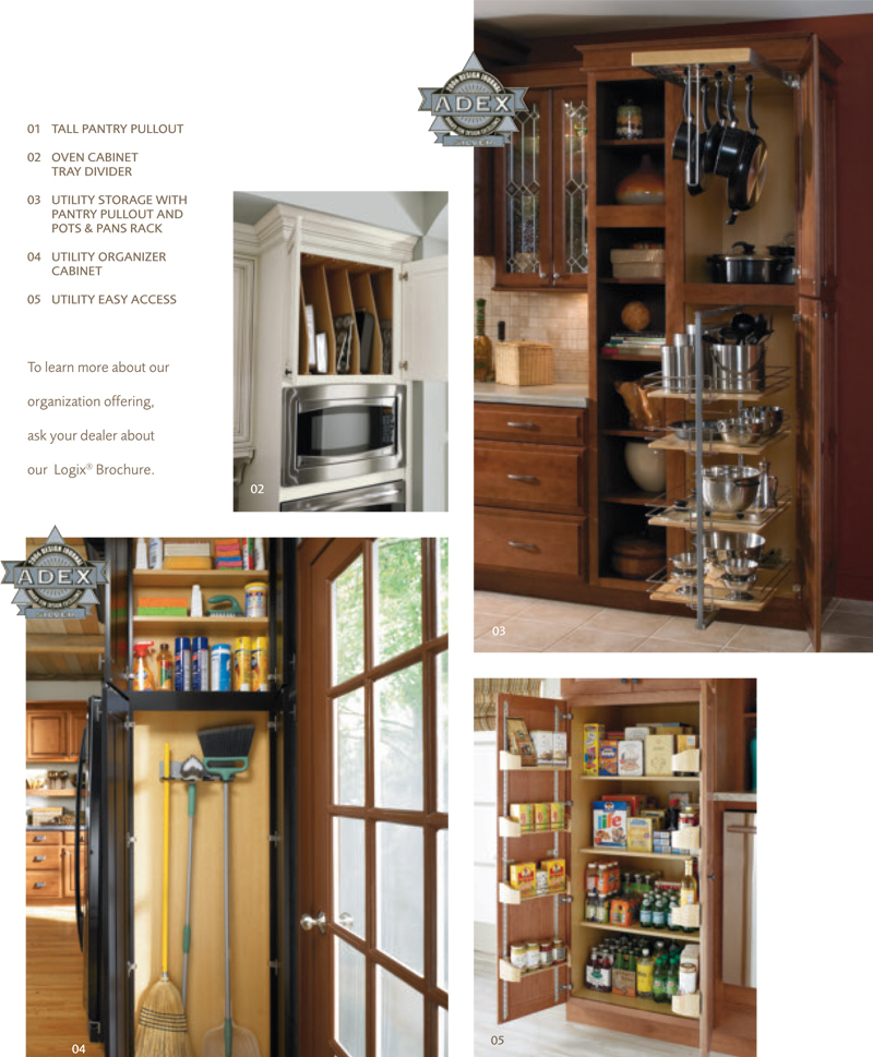 Get organized kitchen cabinets for Cabinets for less